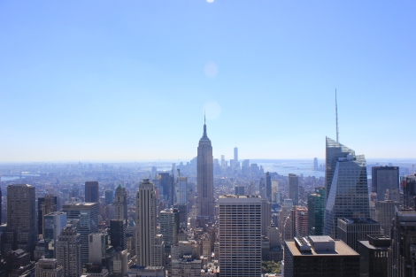 Desde el Top of the Rock