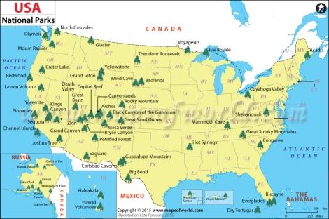 Parques Naciones de USA
