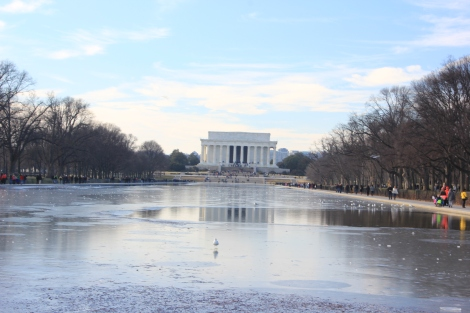 Lincoln Memorial y Reflecting Pool