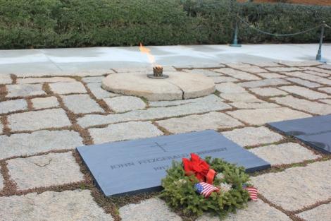 La tumba de Kennedy