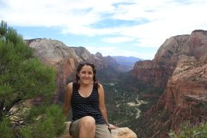 En Zion Canyon