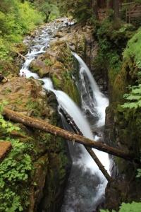 Sol Duc Falls en Olympici National Park
