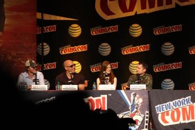 The Last Witch Hunter panel (con Vin Diesel, Rose Leslie y Elijah Wood)